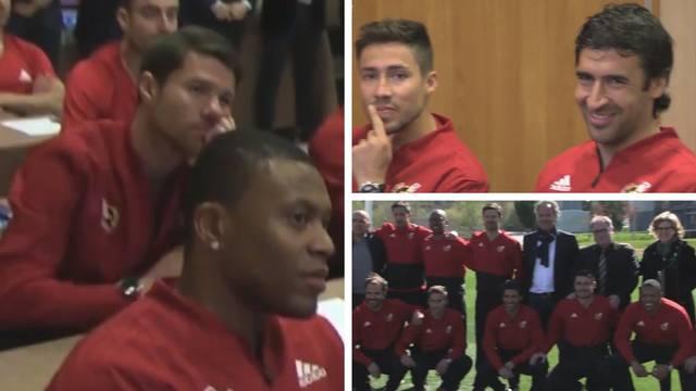 Opet u školskoj klupi: Raul, Xavi, Alonso uče za trenera