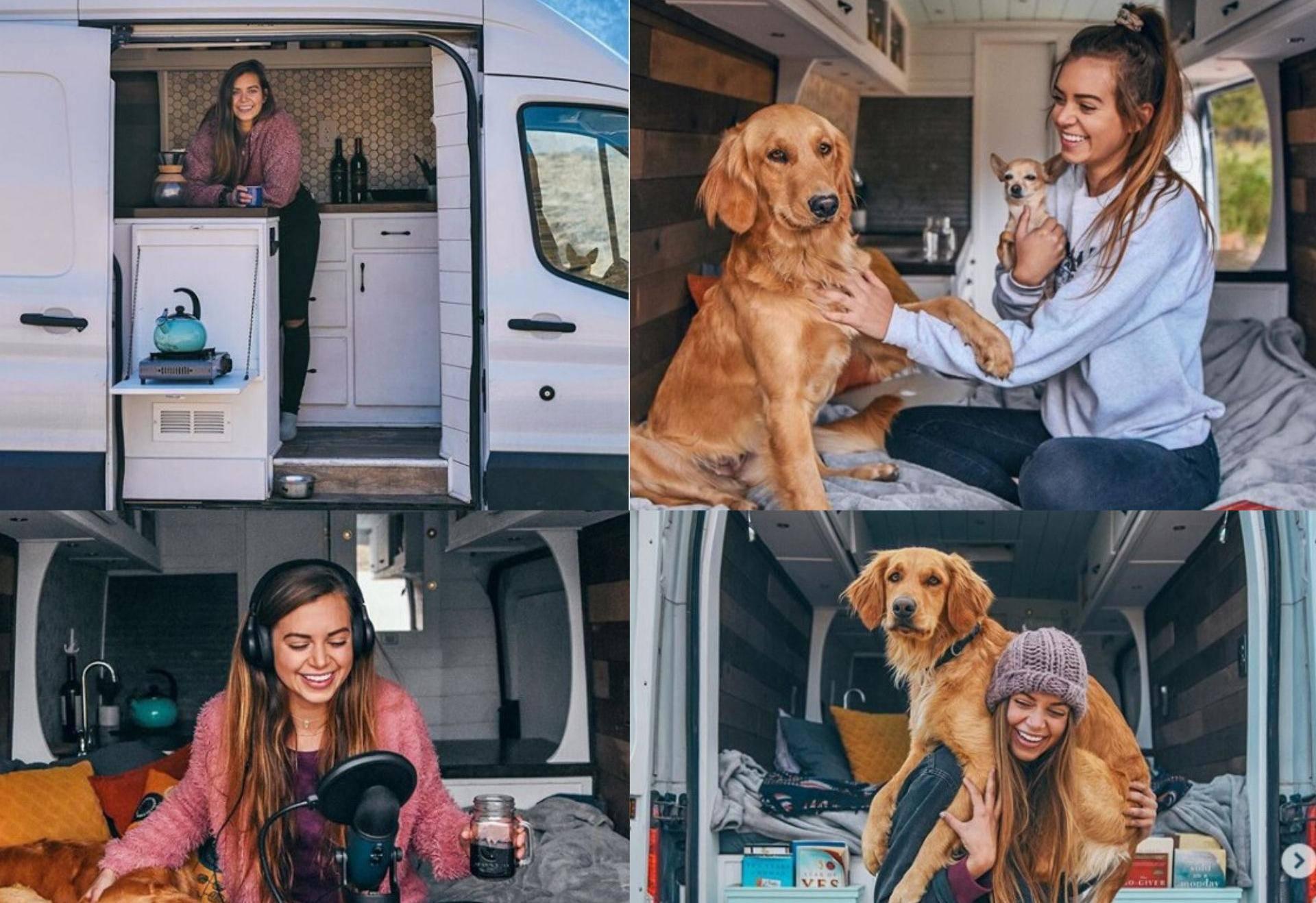Dala otkaz i prekinula vezu da može putovati sama sa psom