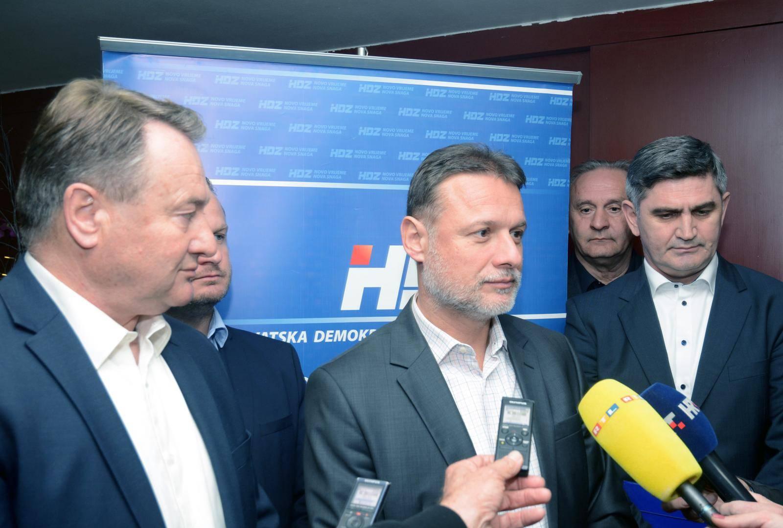 Gordan Jandroković nazočio sjednici Županijskog odbora HDZ-a u Sisku