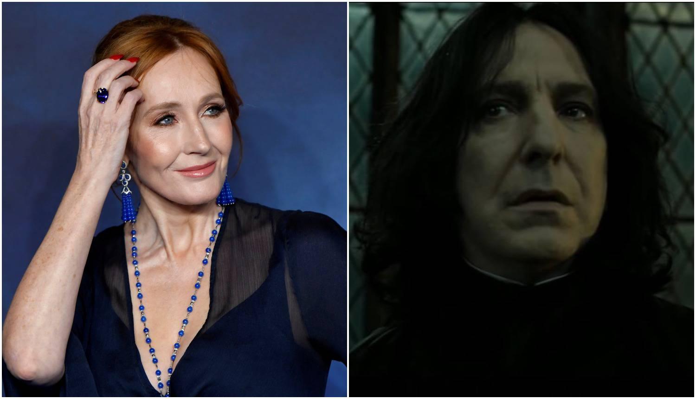 Rowling se prisjetila Snapea: 'Oči su mi se napunile suzama'