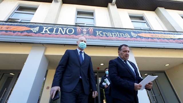 Krapina: Ministar Beroš u službenom posjetu Krapinsko-zagorskoj županiji