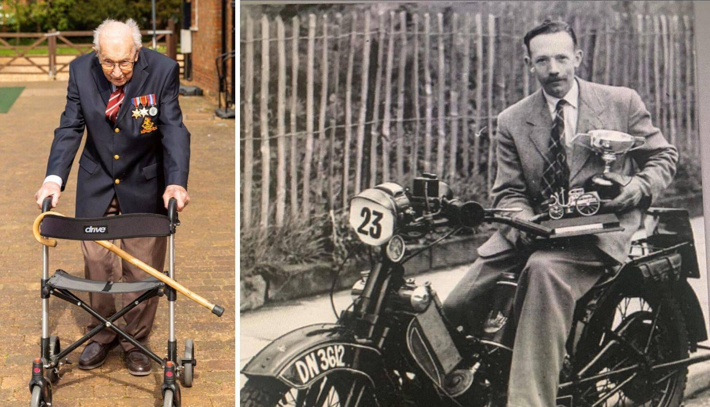Veteran (99) skupio 4 milijuna funti u izazovu - hoda po vrtu