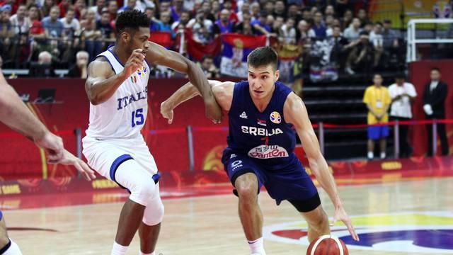 Basketball - FIBA World Cup - Italy v Serbia