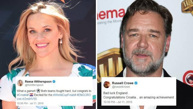 Čestitaju nam Witherspoon i Crowe: Englezi nisu imali sreće