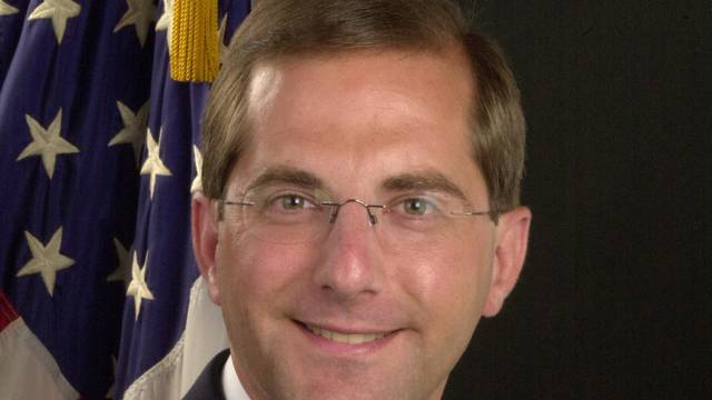 Alex Azar is seen in his official 2005 U.S. Department of Health and Human Services portrait