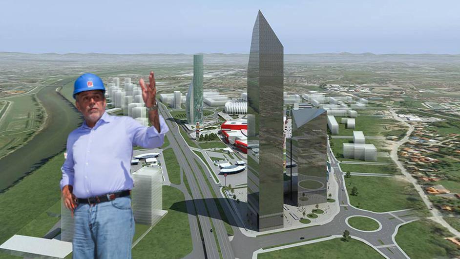 Želi nebodere u Donjem gradu? 'GUP je za interes pojedinaca'