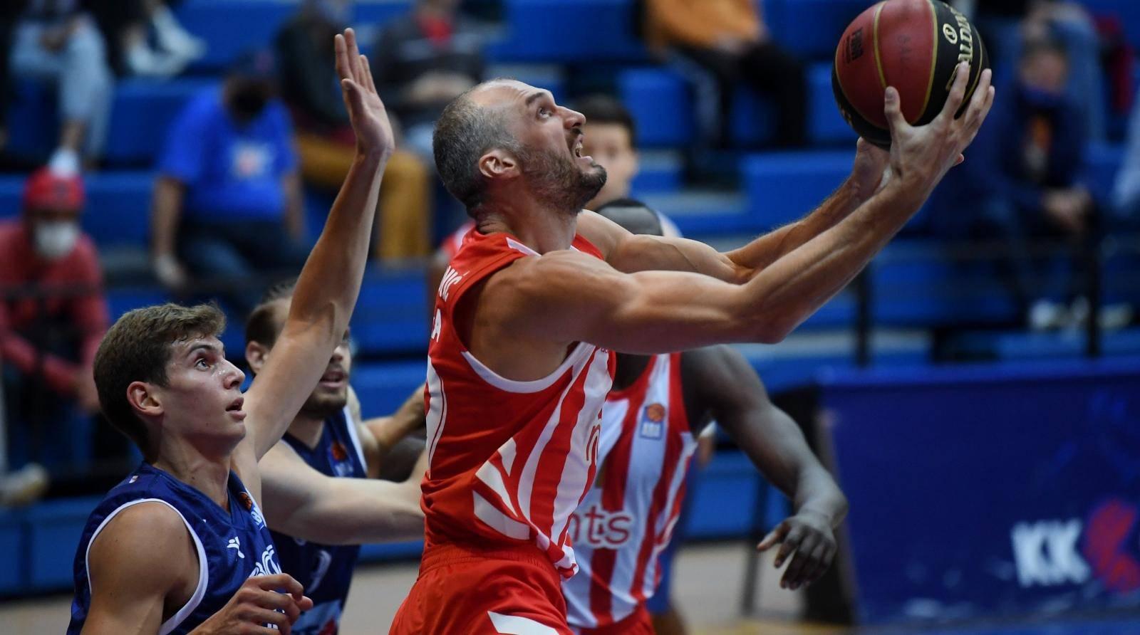 Zagreb: Utakmica ABA lige, Cibona - Crvena Zvezda