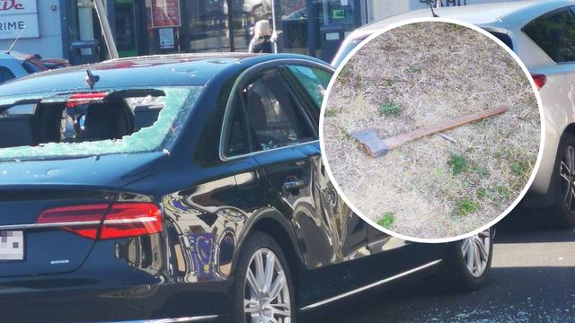 Sjekirom demolirao Audija: 'Vikao je preko telefona i počeo razbijati auto, vidio mu se očaj'