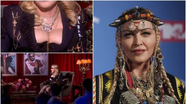 Madonna u korzetu: 'Bože, tko ju je pustio ovakvu u emisiju...'