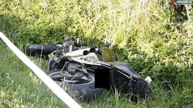 Motociklist koji je poginuo kod Đurđevca nije imao vozačku
