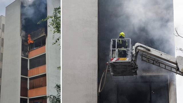 Za požar u Prečkom kriv je kvar na električnim instalacijama