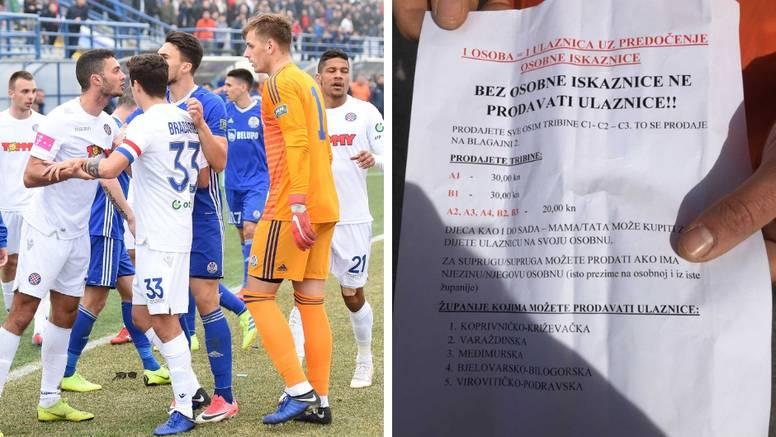 Sramota u Koprivnici: Ulaznice prodavali samo za pet županija