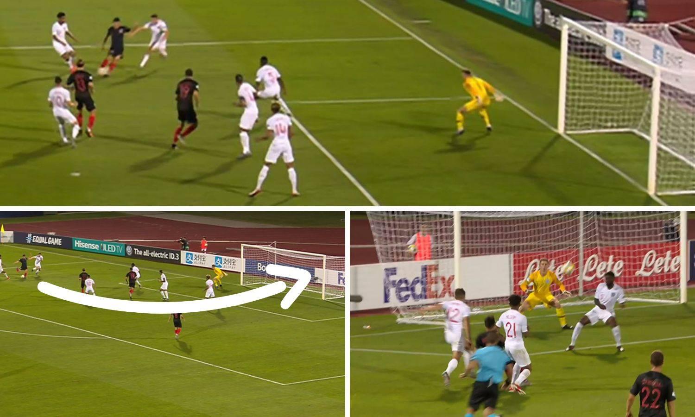 Brekalu skače cijena: Zabio je prekrasan gol protiv Engleza