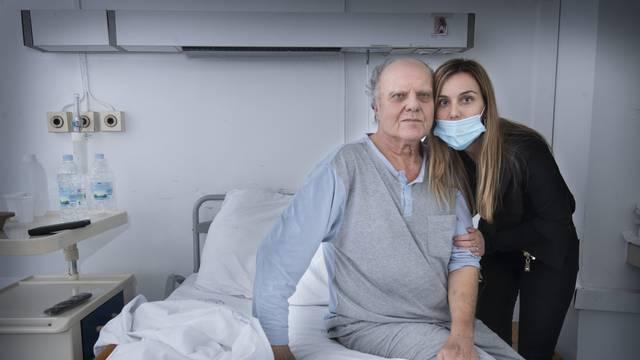 Split, 06.11.2020 - Lijecnici Lovel Giunio i Jaksa Zanchi i njihov tim  60 dana borili za zdravlje Slavka Alebica