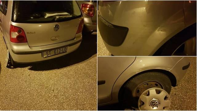 Splićanin udario tuđi auto i nije pobjegao. Ostavio je podatke, a vlasnika traži i preko Facebooka