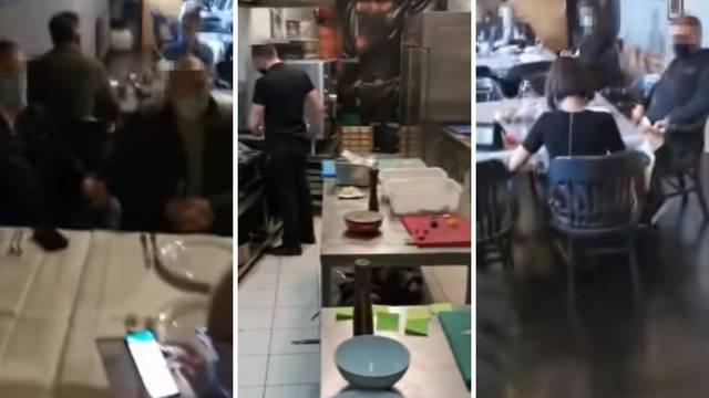 Zagreb: Sanitarna inspektorica pila je i  jela po zatvorenim restoranima. Uhitili su je