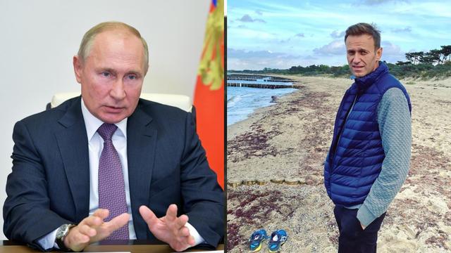 Putin:  'Evakuaciju Navaljnog u Njemačku osobno sam odobrio'