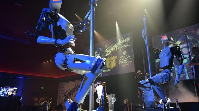 Striptizete zamijenili roboti: 'To je naša vizija budućnosti'