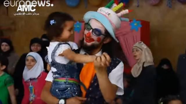 Poginuo posljednji klaun Alepa: Nije htio otići i napustiti djecu