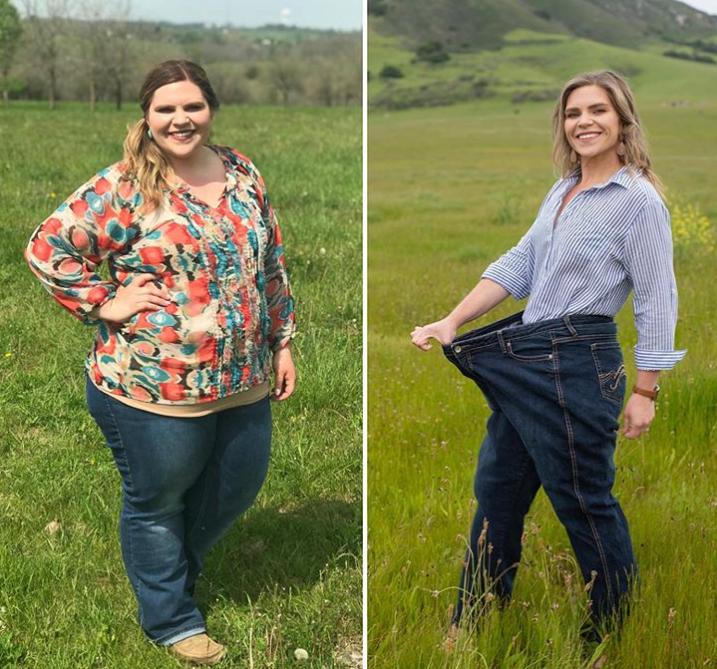 Imala je 127 kilograma, a sada potiče druge na transformaciju