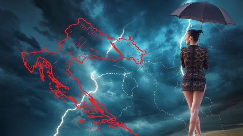 Jesen u svibnju: Stiže nam nova kiša, Meteoalarm upozorava na moguće nevrijeme i grmljavinu