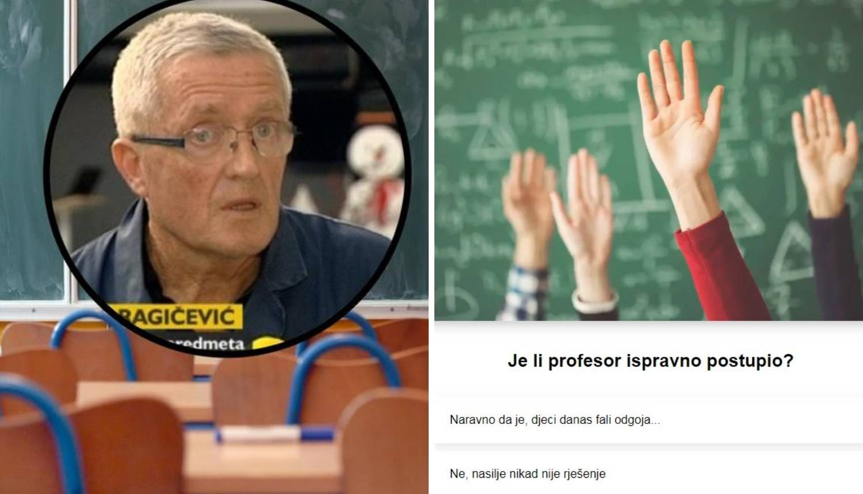 Profesor je nasrnuo na učenike: Je li to opravdana reakcija?