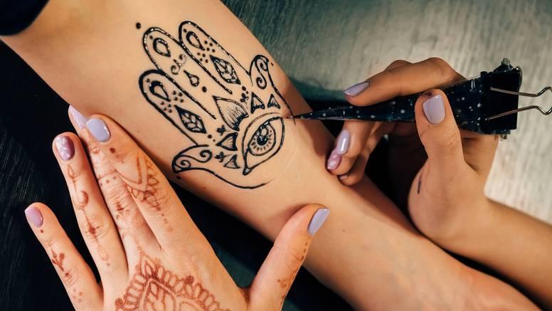 Crtanje po tijelu: Tetovaže s kanom sve su popularnije, no treba znati koja je prirodna