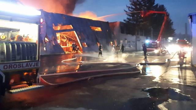 Požar u Oroslavju