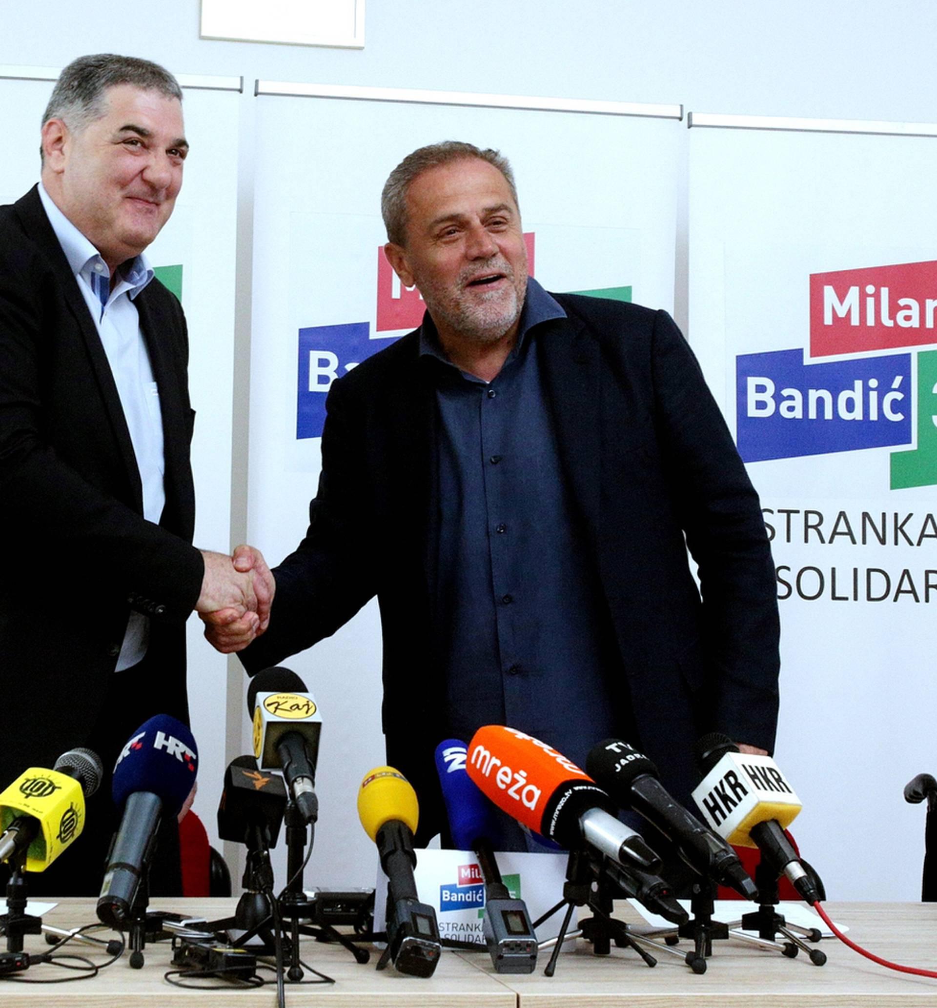 Milan Bandić: Baldasar i ja smo početak pravog puta, puta rada