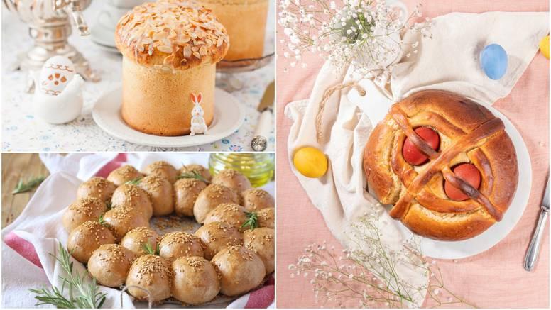 Kruh na sve načine: 8 recepata za veličanstveni uskrsni stol