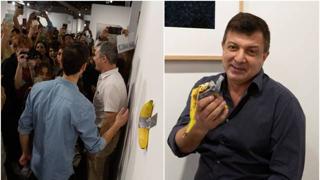 Performer je pojeo 800 tisuća kn vrijednu instalaciju banane