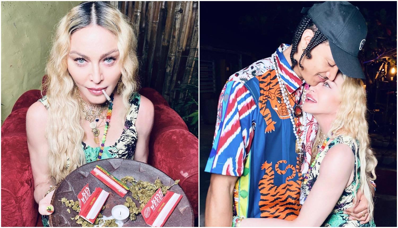 Madonna (62) slavila rođendan uz joint i mlađeg muškarca (26)