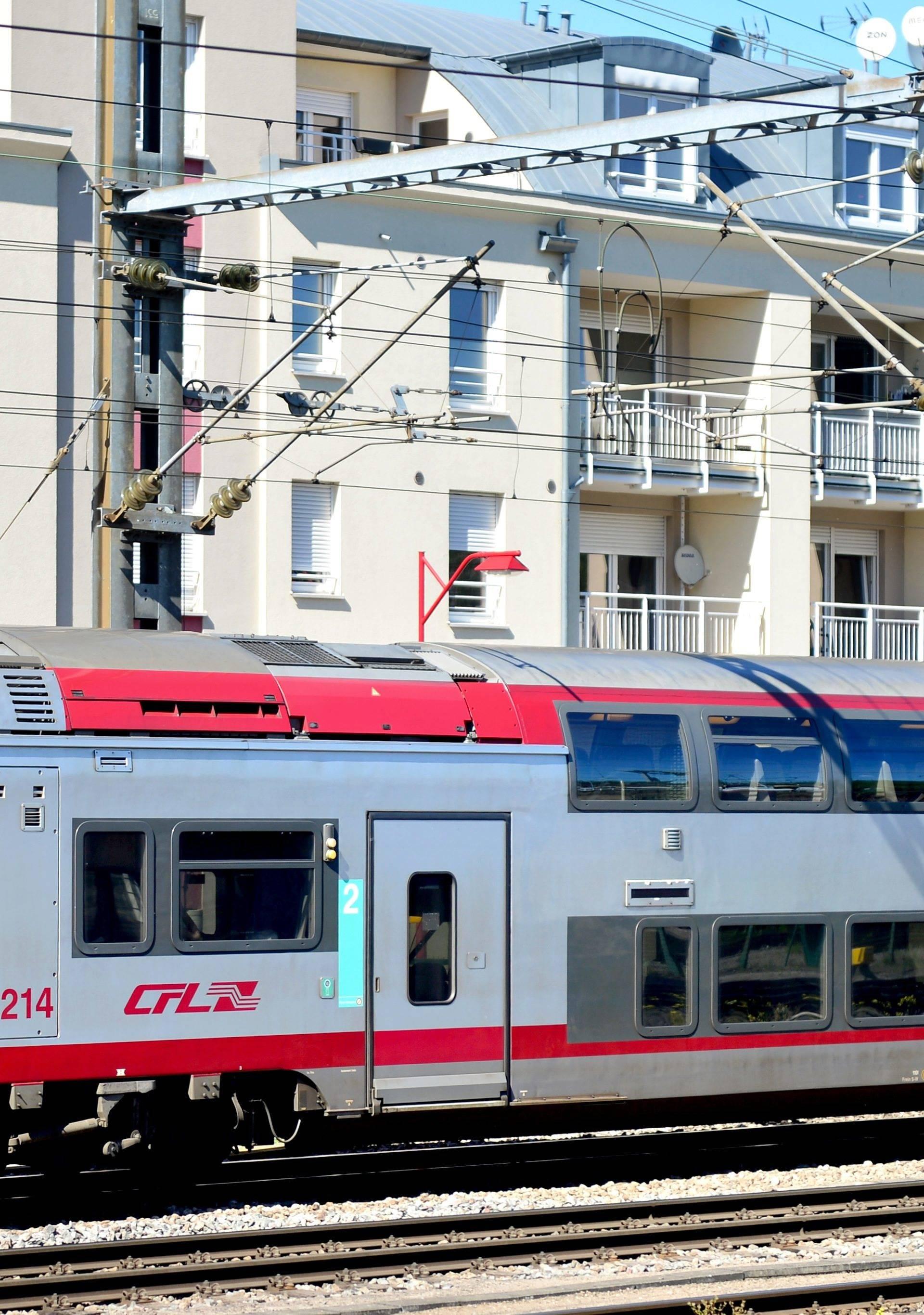 Regional train in Luxemburg