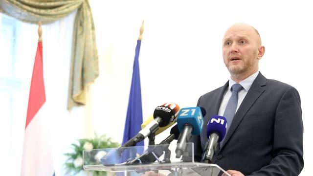 Zagreb: Renato Petek održao konferenciju za medije