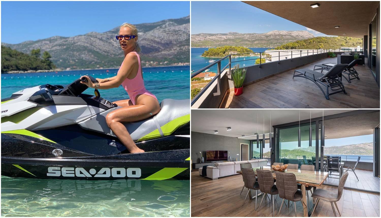 Svadbarska pjevačica je uzela pauzu: Odmara s Nenadom na Korčuli u luksuznom penthouseu