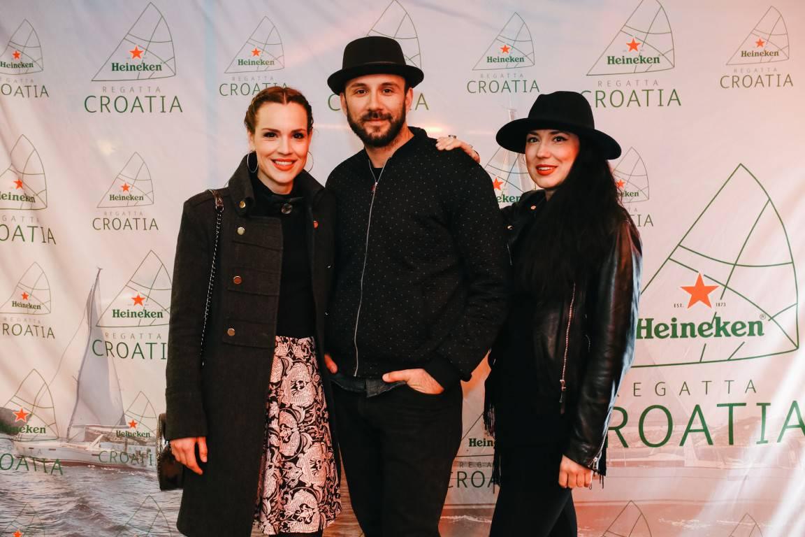 Zvijezde na predstavljanju prve Heineken Regatte u Hrvatskoj