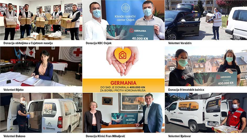 Germania Sport izdvojila više od 400.000 kn pomoći