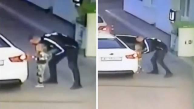 Jezivo: Namamio curicu u auto dok je mama plaćala račun