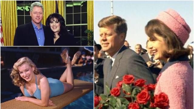 JFK je imao harem, a Clintona je Hillary zbog seks afera mlatila