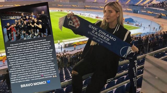 Emotivna Leyla Hajrović: Žalila sam Dinamo, sad sam ponosna