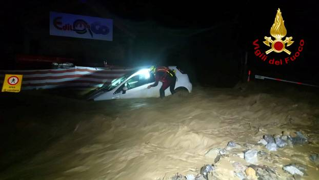 Flooding in Limone Piemonte