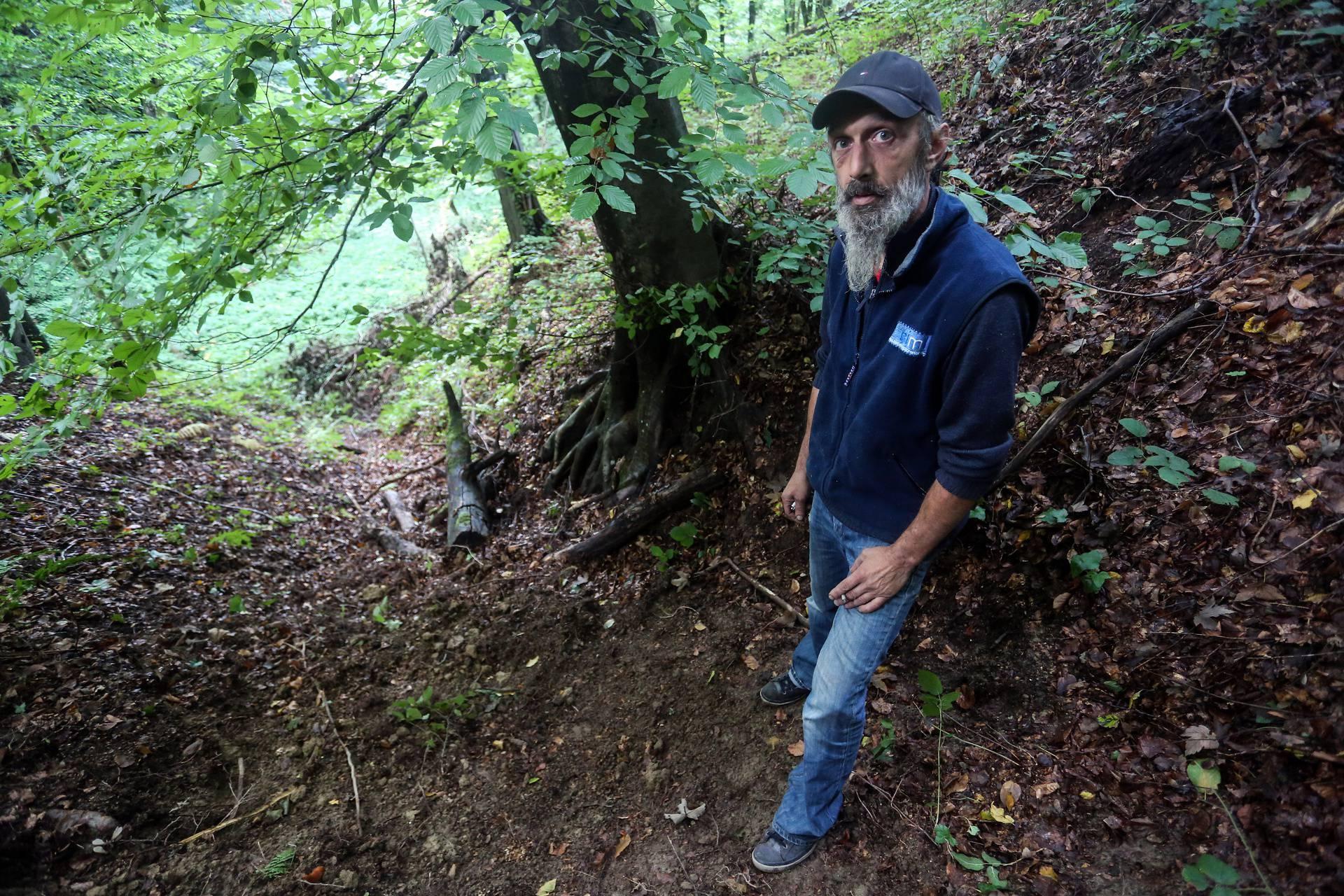 Našao kostur u šumi: 'Lubanja me nije uplašila, ali mi je drago da nisam vodio dijete sa sobom'