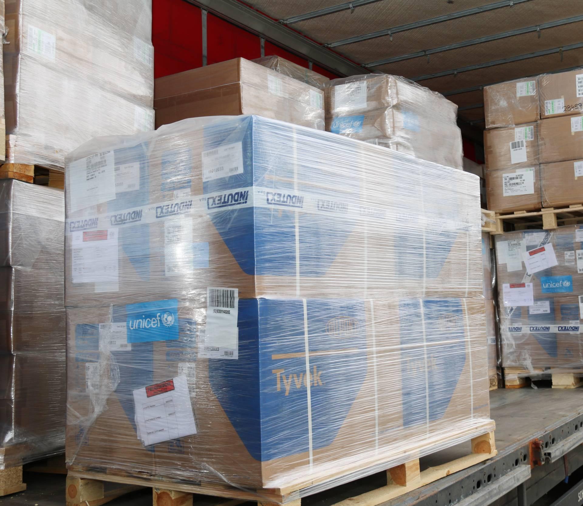 Nova pošiljka stigla u Zagreb: Poslali 4 tone zaštitne opreme