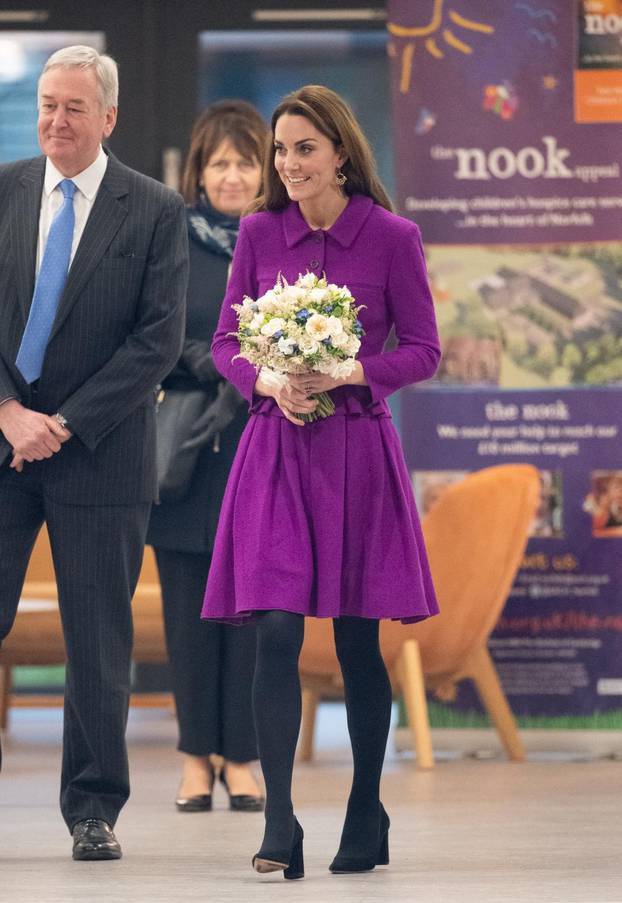 Royal visit to East Anglia Children