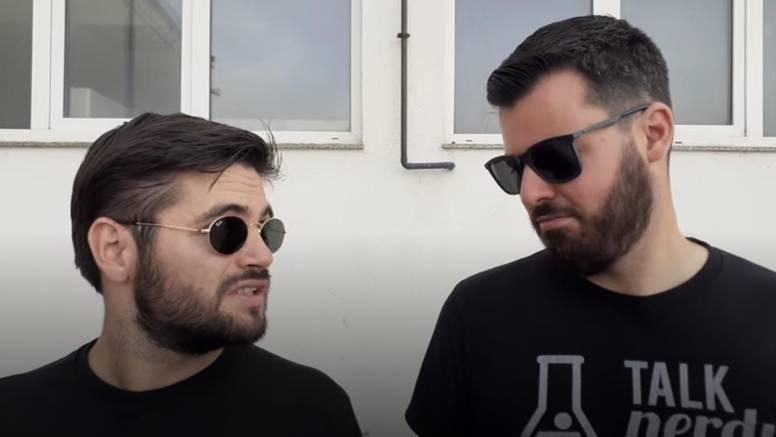 Rimac snimio urnebesni video s prijateljem: 'Ti ćeš me pogurat? A nemam ti vrimena ja sad...'