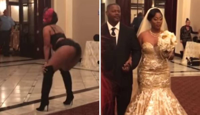 Viralni hit! Mlada na vjenčanju skinula haljinu i šokirala goste