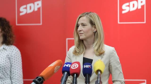 Zagreb: Mirela Ahmetović predala kandidaturu za predsjednicu SDP-a