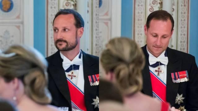 Što se dogodilo? Princ ostao bez brade i brkova na večeri