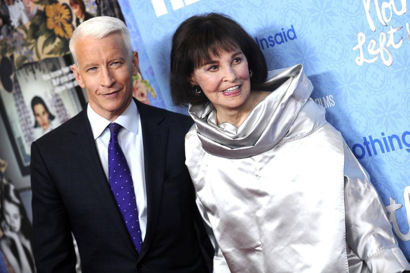 Premiere 'Nothing Left Unsaid: Gloria Vanderbilt & Anderson Cooper' in New York