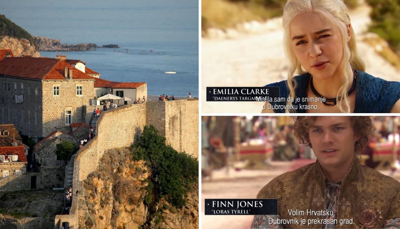 Glumci Igre prijestolja o Lijepoj našoj: 'Ova zemlja je čarobna'